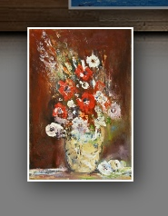 Still Life and Flowers Paintings - Viorica Ciucanu